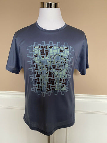 NWT $375 Emporio Armani Men's Short Sleeve Graphic T-Shirt Large 3G1T6T Portugal