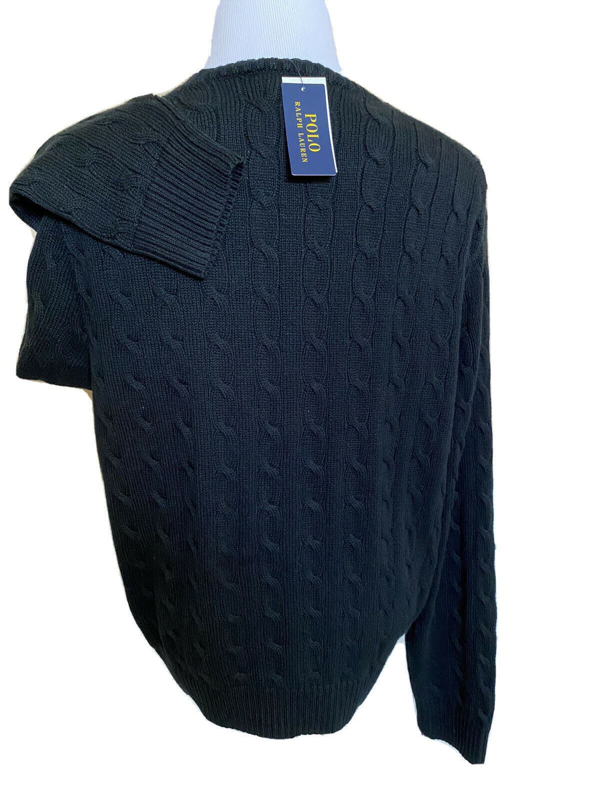 NWT $89 Polo Ralph Lauren Mens Navy Knit Cotton Sweater 2XL