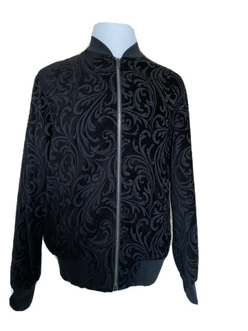 NWT Versace Mens Black Jacket Size Large Made in Italy