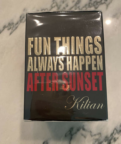 Fun Things Happen AFTER SUNSET by KILIAN - NEWEST Release 2019 Nib sealed 3.4 oz