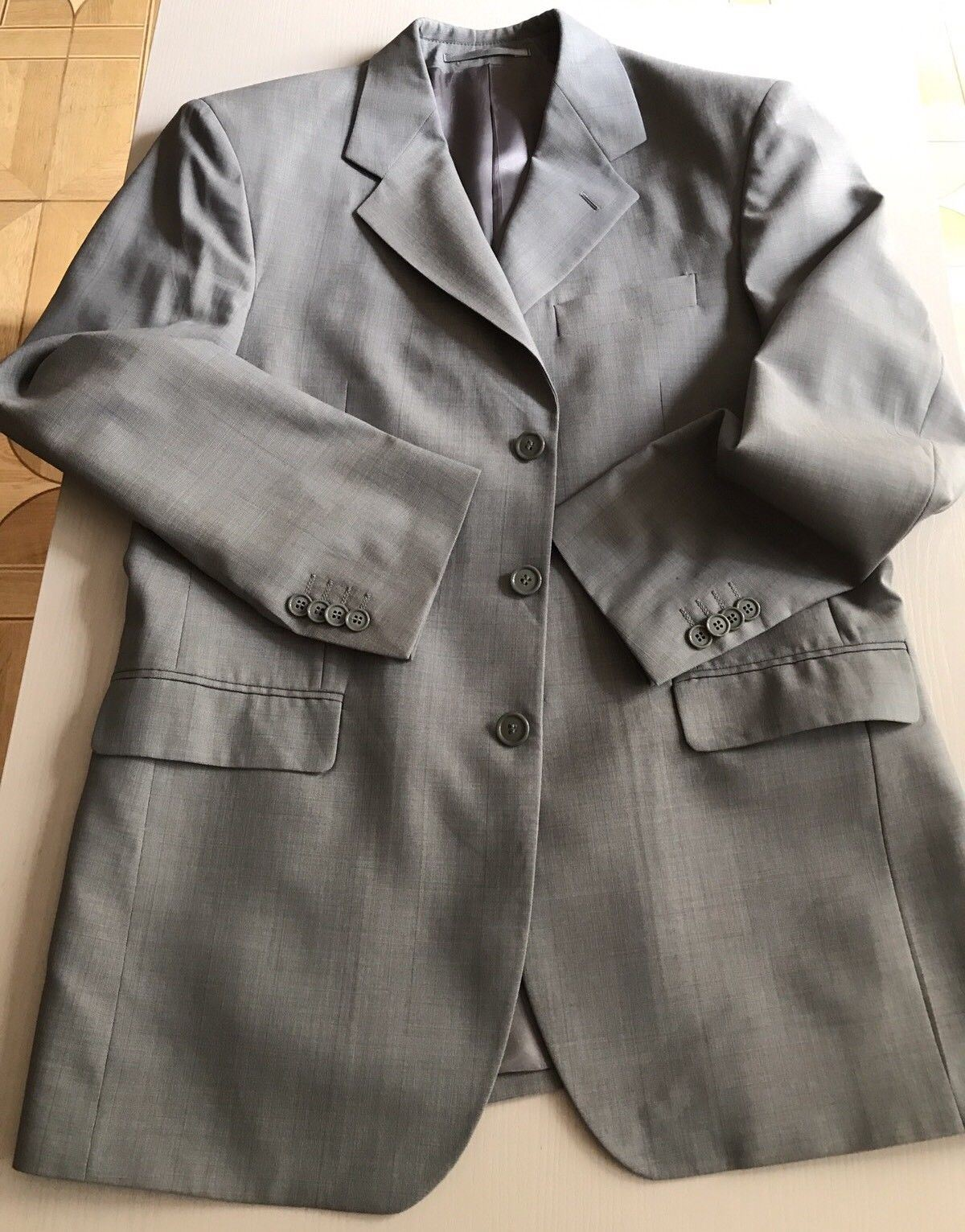 Uomo Boss Men's Sport Coat Blazer Gray 38 US ( 48 Eur ) Italy - BAYSUPERSTORE