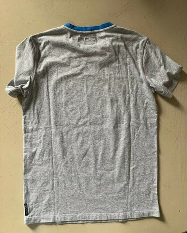 New $120 Armani Junior Boys T Shirt Gray 14Y