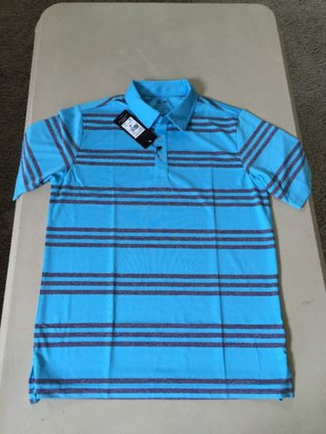 NWT  $60 Adidas  Mens Short Sleeve Polo Shirt Size M - BAYSUPERSTORE