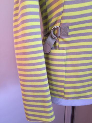 New $1390 Akris Women's Jacket Sport Coat  Yelow Size 8 US - BAYSUPERSTORE