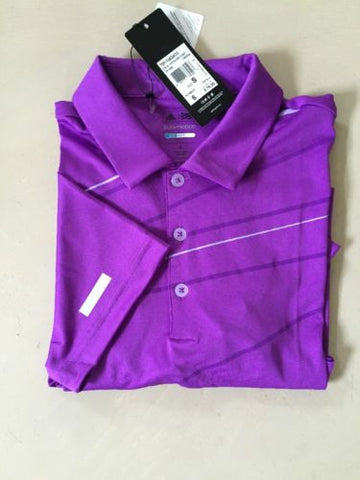 NWT  $75 Adidas  Mens Short Sleeve Polo Shirt Size S - BAYSUPERSTORE