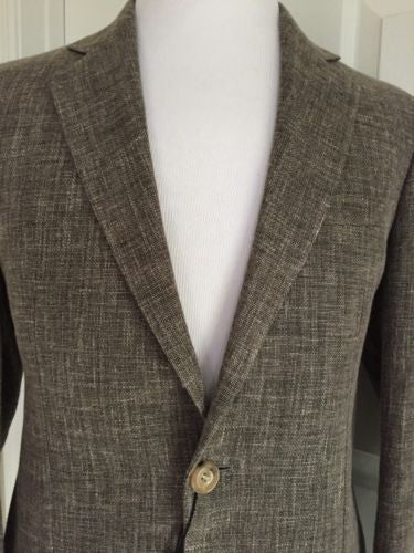 Giorgio Armani Sport Coat Jacket Brown 40R US (50R Eu) NWT $2795 Italy - BAYSUPERSTORE