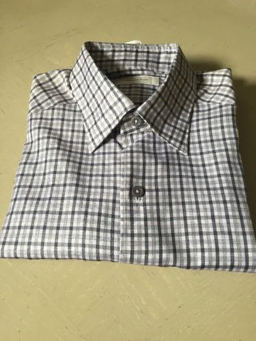 Ermenegildo Zegna Dress Shirt Multi-Color Size S $345 NWT - BAYSUPERSTORE