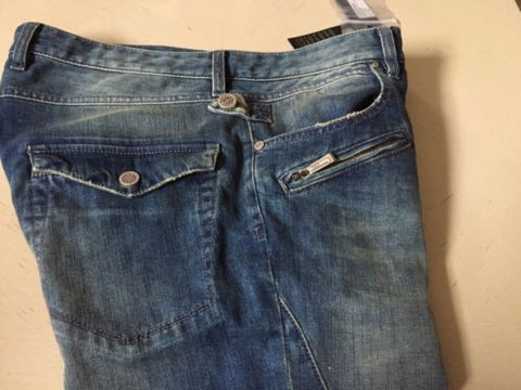 NWT Just Cavalli Mens Jeans Pants Blue Size 48 Eur ( 34 US ) Italy - BAYSUPERSTORE