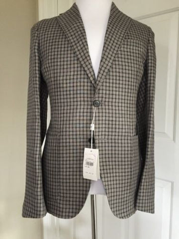 Armani Collezioni Sport Coat Jacket Brown 40R US ( 50R Euro) NWT $1145 - BAYSUPERSTORE