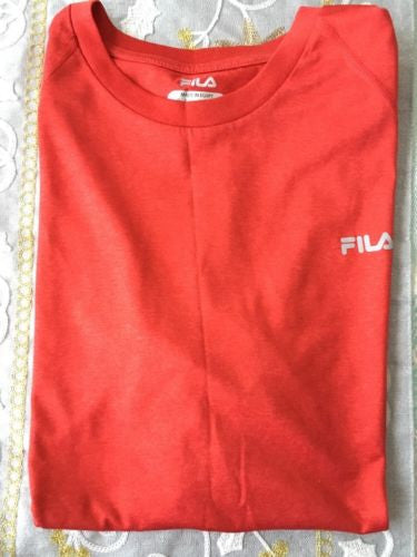 FILA Mens Sleeveless Sport Shirt Size M - BAYSUPERSTORE