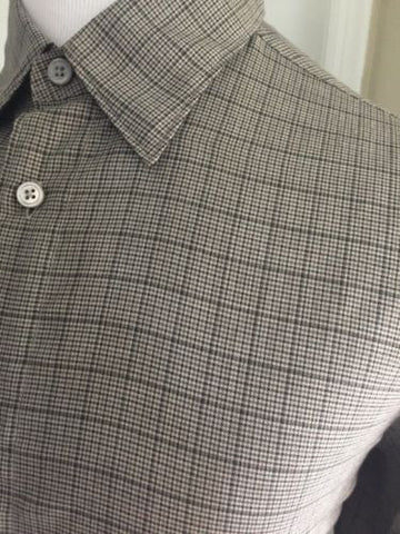 Ermenegildo Zegna Dress Shirt Gray Size XL $345 NWT - BAYSUPERSTORE