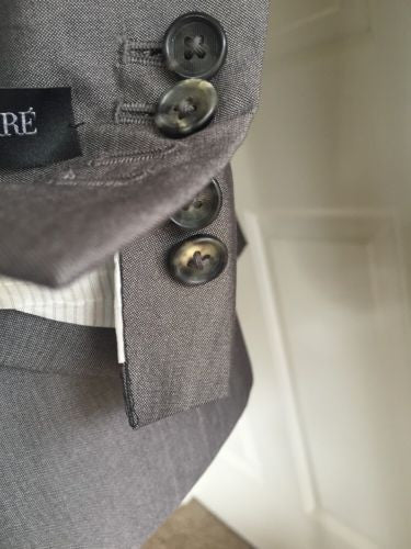 Gianfranco Ferre Men's Suit Gray 44 US ( 54 Eur ) NWT $3050 Italy - BAYSUPERSTORE