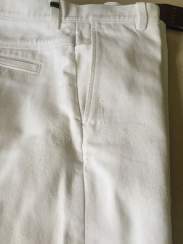 New $935 Gucci Mens Jeans Pants White 34 US ( 50 Eur) 2015 Italy - BAYSUPERSTORE