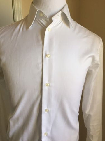 Armani Collezioni Mens Regular Fit Dress Shirt White 38/15 - BAYSUPERSTORE