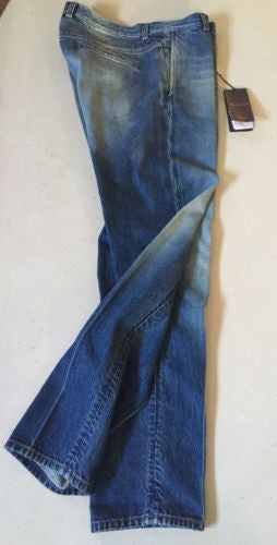 New $1255 Gucci Mens Jeans Pants Blue 36 US ( 52 Eur) 2015 Italy - BAYSUPERSTORE
