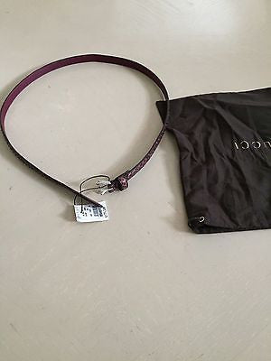 NWT Retail Price $699 Gucci Women's Genuine Python Leather Belt Made in Italy 30 - BAYSUPERSTORE