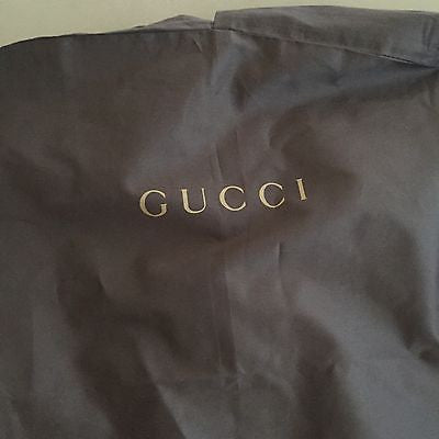 Brand New Gucci Garment (Suit) Brown Bag - BAYSUPERSTORE