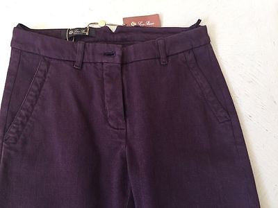 NWT $ 980 Loro Piana Women's  Pants Size US XL ( Eur 48 ) Italy - BAYSUPERSTORE