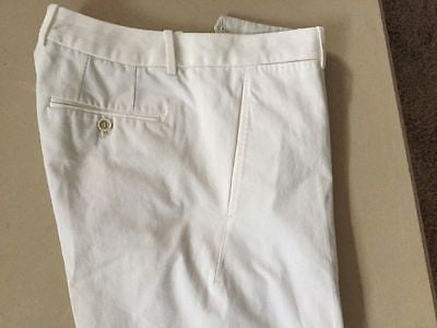 NWT $920 Alexander McQueen Dress  Pants White 30 US (46 Euro ) Italy - BAYSUPERSTORE