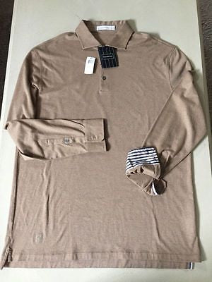 NWT $ 545 Ermenegildo  Zegna  Polo Shirt Size 56 Eur ( 46 US ) Made In Italy - BAYSUPERSTORE