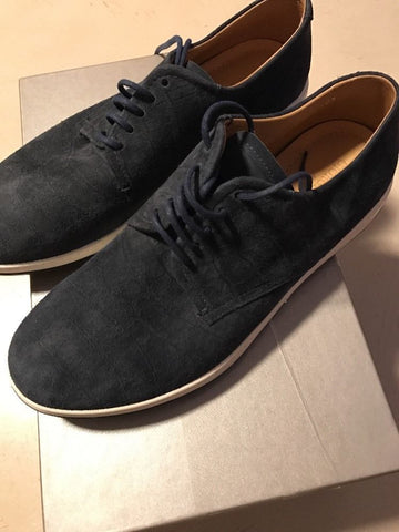 New $625 Giorgio Armani Suede Shoes Black Size 5 ( 38 Eur ) Italy - BAYSUPERSTORE
