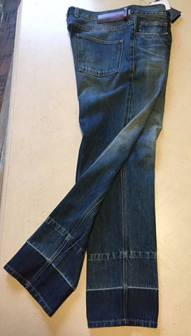 NWT $945 Gucci Men's Jeans Pants Blue 36 US ( 52 Eur ) Italy - BAYSUPERSTORE