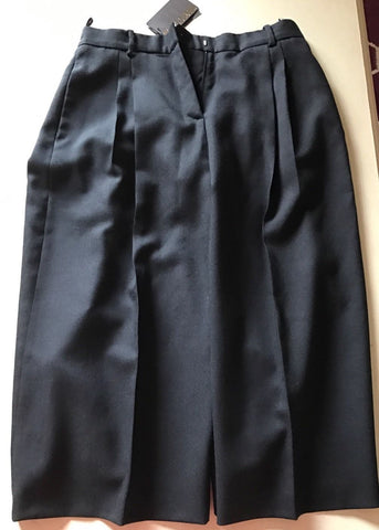 New $1095 Roberto Cavalli Women's  Pants / Skirt Black 46 Eu (16 US ) Italy - BAYSUPERSTORE