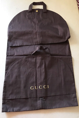 Brand New Gucci Garment (Suit) Dark Brown Bag - BAYSUPERSTORE