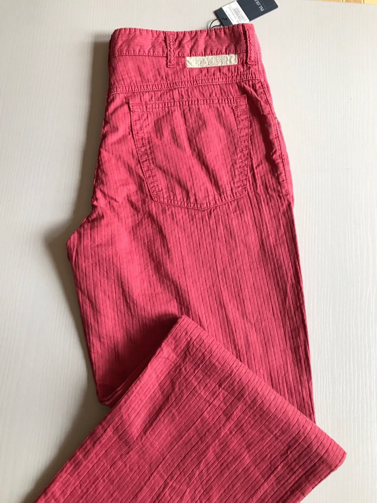 NWT $545 Pal Zileri Mens Pants Jeans Red 34 US ( 50 Eur ) Italy - BAYSUPERSTORE