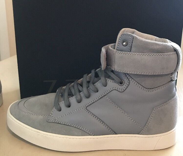NIB $550 Z Zegna Men's Leather/Suede Sneakers Boots Beige 9.5 US Italy - BAYSUPERSTORE