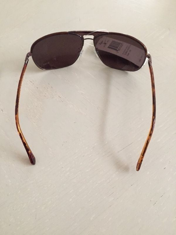 NWT  $340 Ermenegildo Zegna SZ 3169 0K01 Sunglasses 62-14-125 Made In Italy - BAYSUPERSTORE