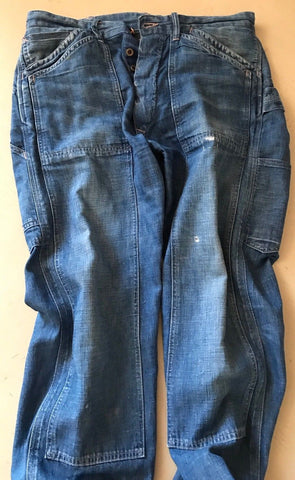 $565 Double RL Legendary Jeans Pants Blue 32 US ( Measured 34 ) Made In USA