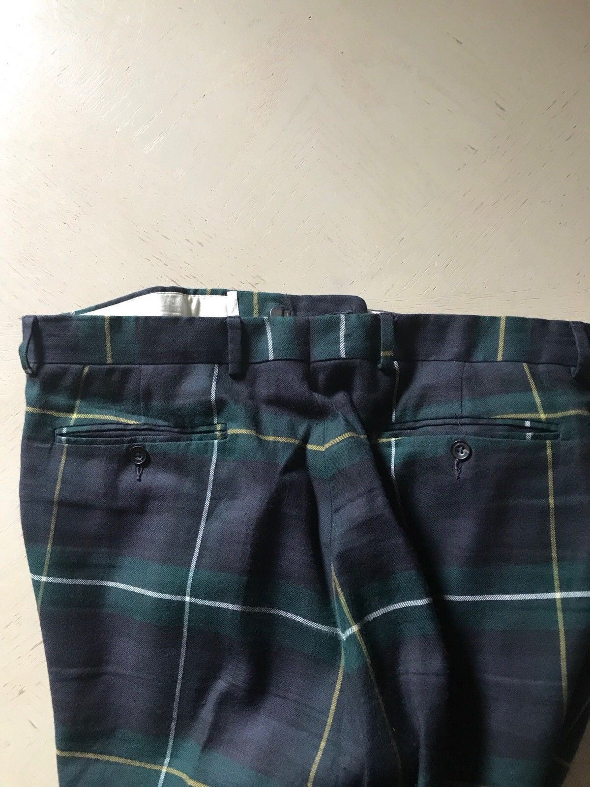 $650 Ralph Lauren Mens Pants Green 33 US ( 50 Eur ) Italy - BAYSUPERSTORE