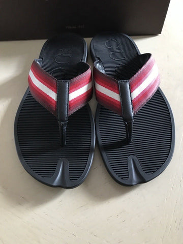 New Gucci Men's Sandals/ Flip-Flops Red/Black 9G ( 9.5 US ) Italy - BAYSUPERSTORE
