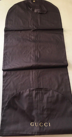 Brand New Gucci Womens Garment Dark Brown Dress Coat Bag - BAYSUPERSTORE