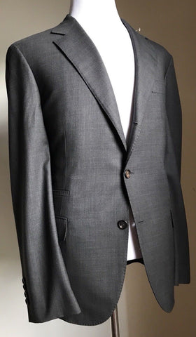 New $4060 Brunello Cucinelli Sport Coat Blazer Gray 44 US (54 Eur) Italy - BAYSUPERSTORE