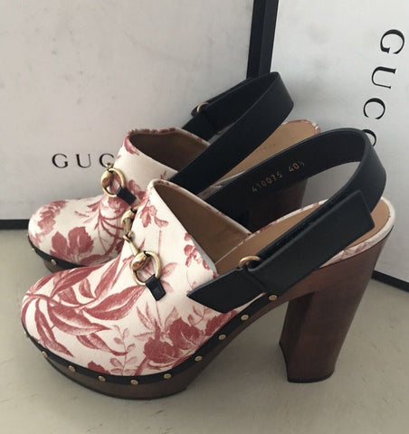 NIB $975 Gucci Women's Sandal Shoes Red 10.5 US ( 40.5 Eu ) 410075 - BAYSUPERSTORE