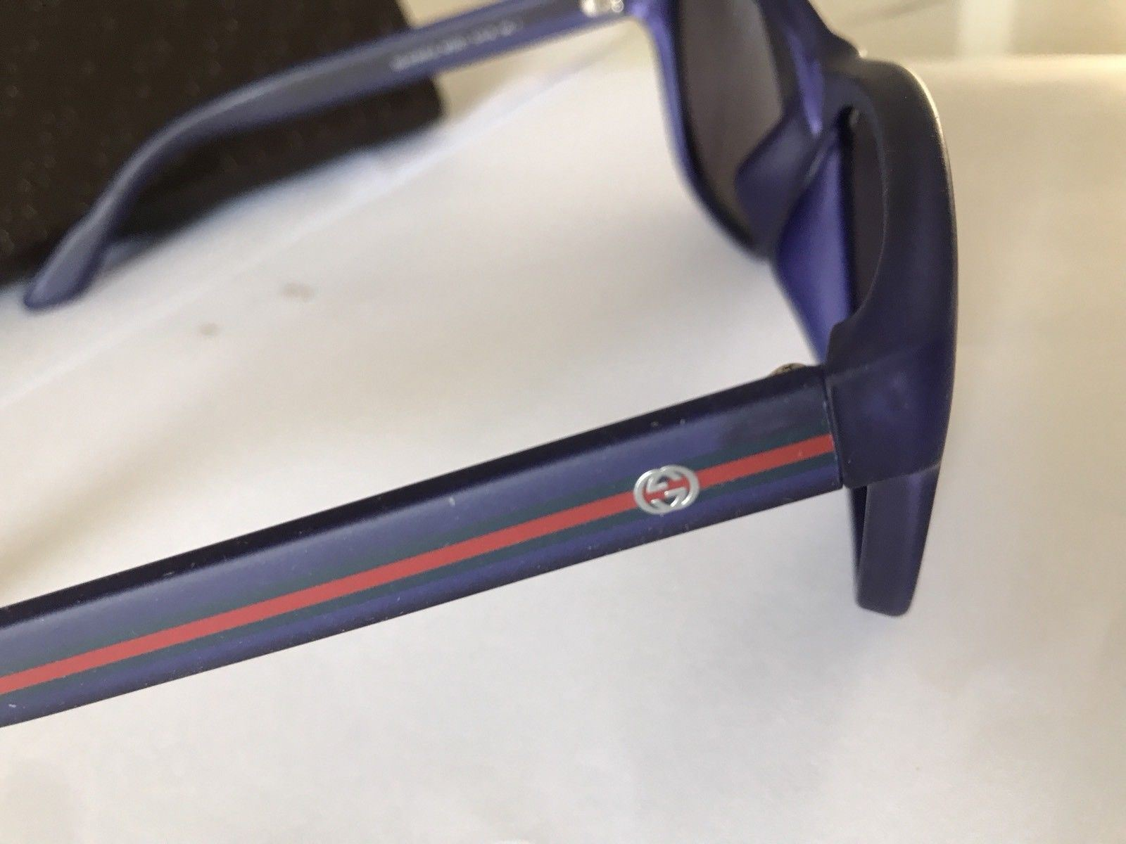 New $345 Gucci GG 3735/F/S M7DXT Bio Based Sunglasses 57-16-140 Italy - BAYSUPERSTORE