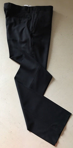 New $640 Versace Collection Mens Dress Pants Black 34 US ( 50 Eu )