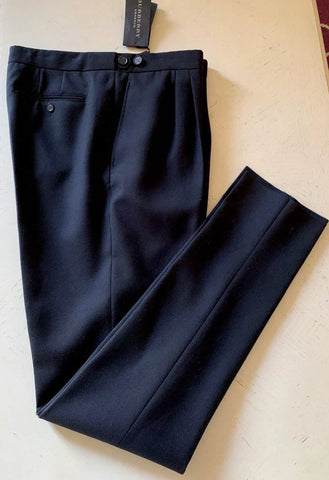 NWT $795 Burberry Prorsum Mens Dress Pants Black Size 34 US ( 50 Eu ) Italy