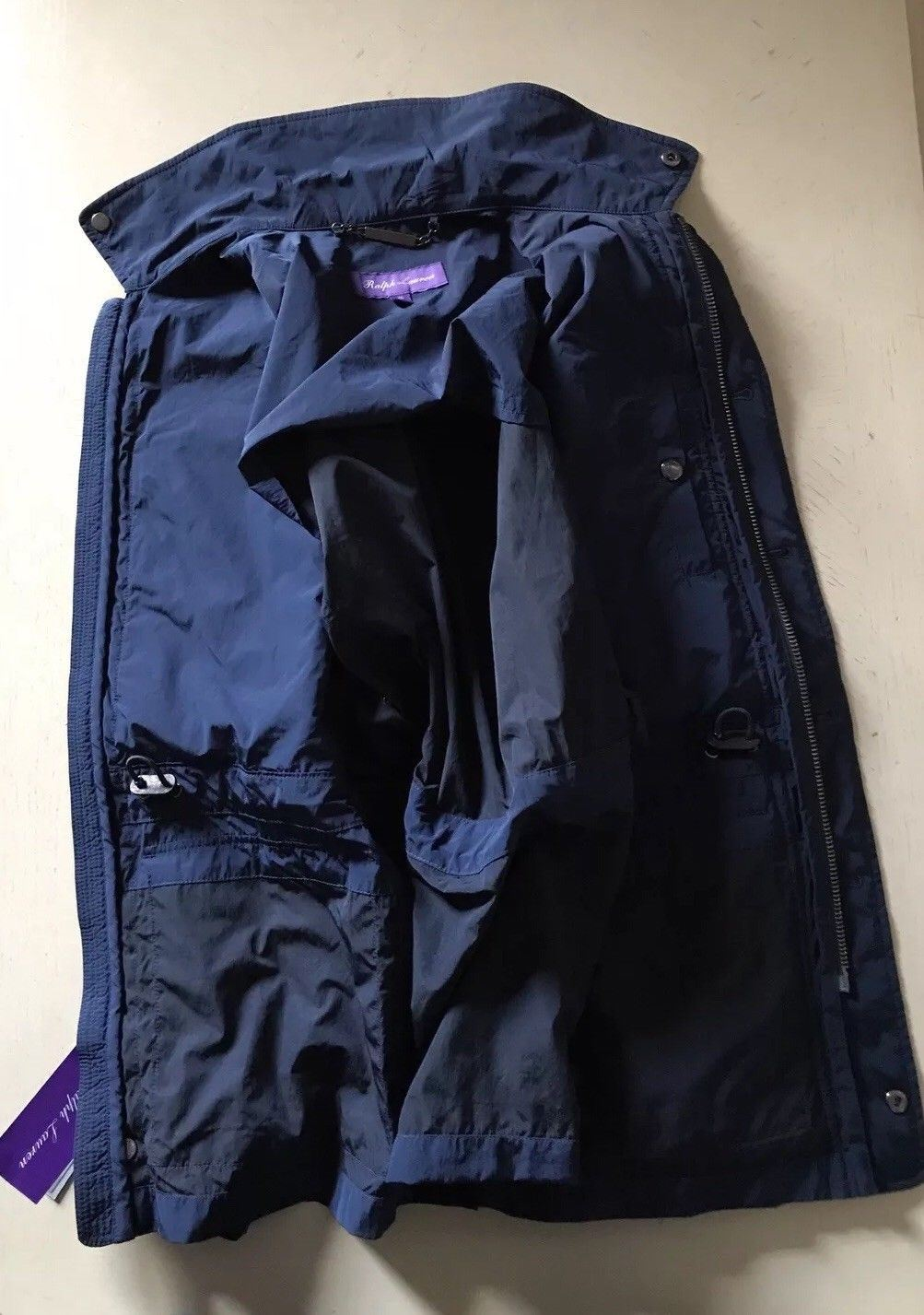 New$1895 Ralph Lauren Purple Label Men Jacket Coat Blue Size XS