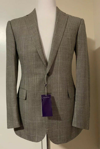 NWT $1895 Ralph Lauren Purple Label Mens Sport Coat Blazer Brown Tan 44R Italy
