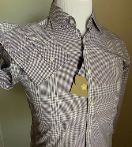 NWT $395 Burberry Mens Dress Heather Size XS US