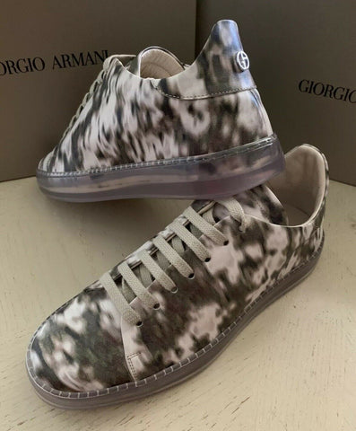 NIB $995 Giorgio Armani Women Flats Knight Shoes Sneakers Multicolor 9 US Italy