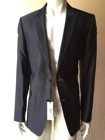 NWT $1315 Versace Collection Spot Coat Blazer Black 40R US ( 50R Eur)