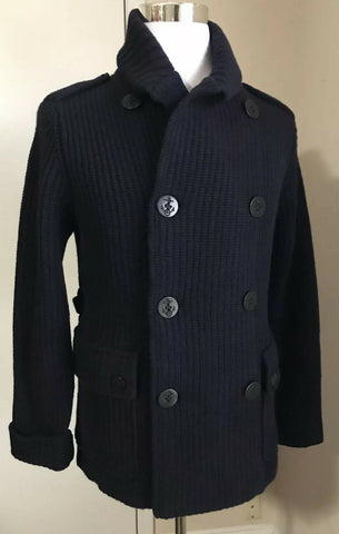 NWT $2495 Ralph Lauren Purple Label Men  Cardigan Sweater Jacket Navy L Italy