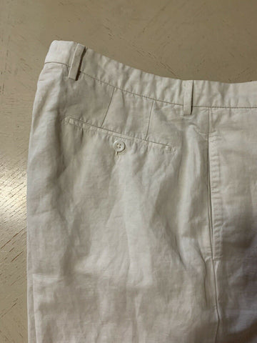 NWT $259 INCOTEX Mens Short Pants Open White 32 US ( 48 Eu )