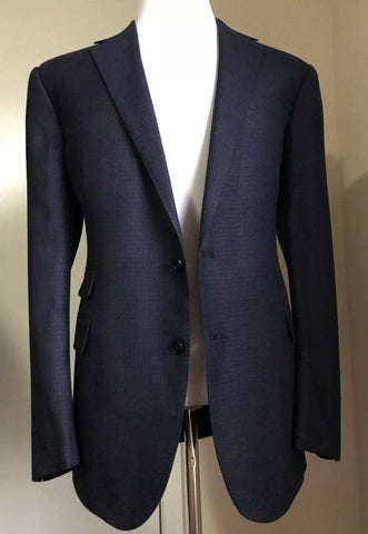 NWT $2595 Ralph Lauren Purple Label Men Sport Coat Blazer Blue 46R US Italy