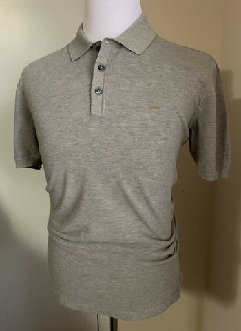 NWT $475 Ermenegildo Zegna Couture Men Polo Shirt Gray M US ( 50 Eu ) Italy