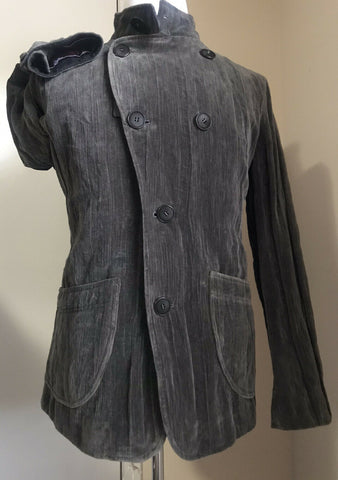 New $3095 Giorgio Armani Men Jacket Coat Gray 38 US ( 48 Eu ) Italy
